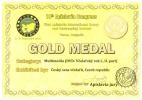 Zlatá medaile v kategorii multimedia