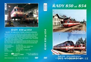 17. díl dokumentů Historie železnic - Řady 850 - 854 (booklet)