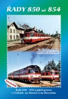 17. díl dokumentů Historie železnic - Řady 850 - 854