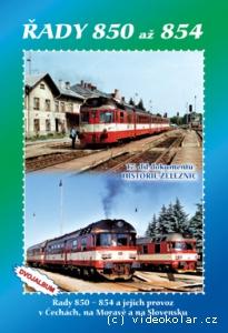 17. díl dokumentů Historie železnic - Řady 850 - 854 (top)