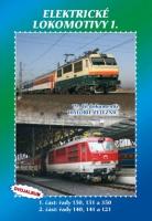 19. díl dokumentů Historie železnic Elektrické lokomotivy 1. - DVOJALBUM