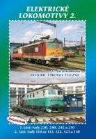 22. díl dokumentů Historie železnic Elektrické lokomotivy 2. - DVOJALBUM